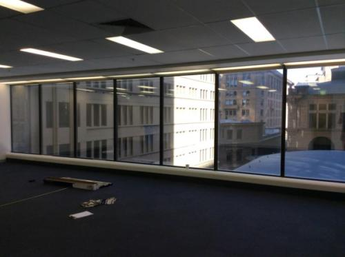 Commerical office solar film