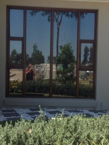 Solar film for the home